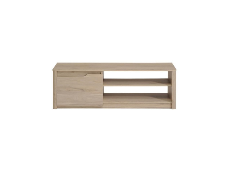 meuble tv peter 136 x 40 x 42 cm beige vente de habitat et jardin conforama. Black Bedroom Furniture Sets. Home Design Ideas