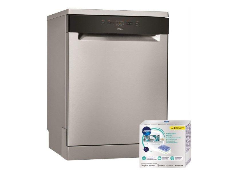 Lave-vaisselle posable inox 46db 13 couverts 60cm 5 programmes