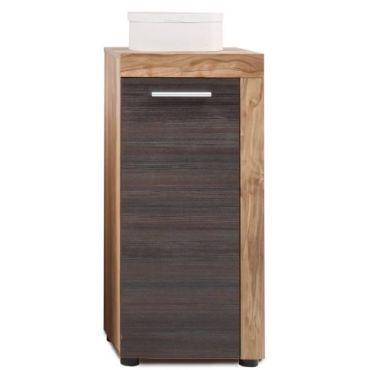 Cancun collection placard de salle de bain noyer finition - Finition de salle de bain ...