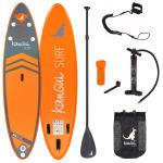 Stand up paddle 335cm sup gonflable + pagaie + sac à dos + pompe haute pression + leash + kit de réparation- bali