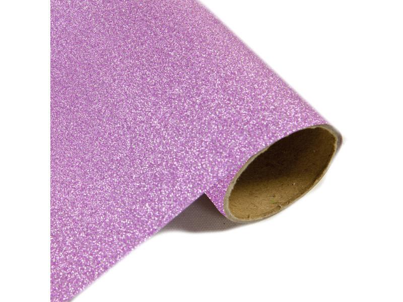 Lot de 10 rouleaux chemin de table effet en métal pailleté rose - 28 cm x 5m