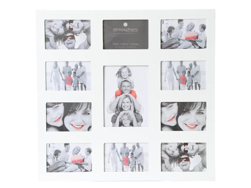 Pêle-mêle - 11 photos - blanc