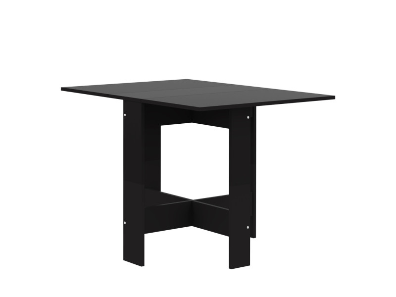 table pliante papillon noir et noir