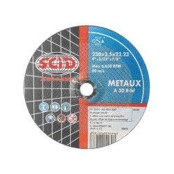 Scid - disques à tronçonner - métaux - ø 125 x 2,5 mm