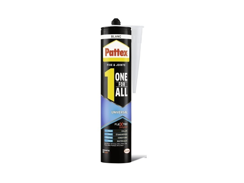 Mastic one for all universal cartouche 290 g blanc 760524