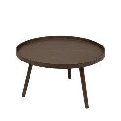Table d'appoint ronde bois l mesa - couleur - bois massif