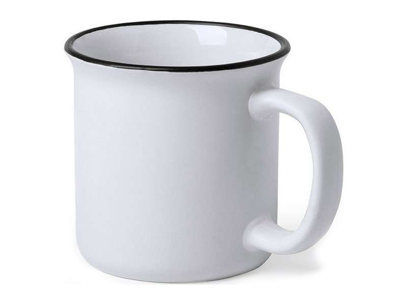 Tasses et thermos stylé couleur blanc tasse vintage (300 ml) 146312