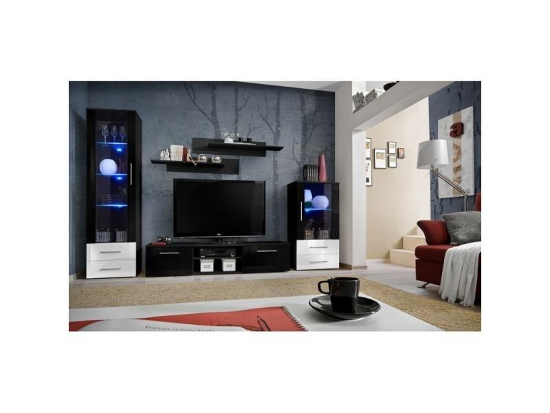Paris Prix Meuble Tv Design Galino Ix 250cm Noir