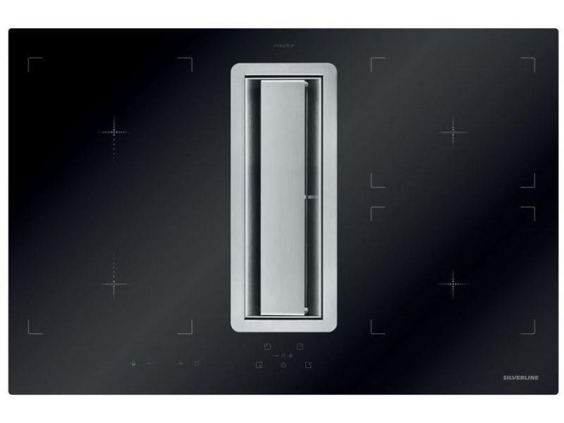 Plaque induction silver 7100w 78cm, h 80078 015