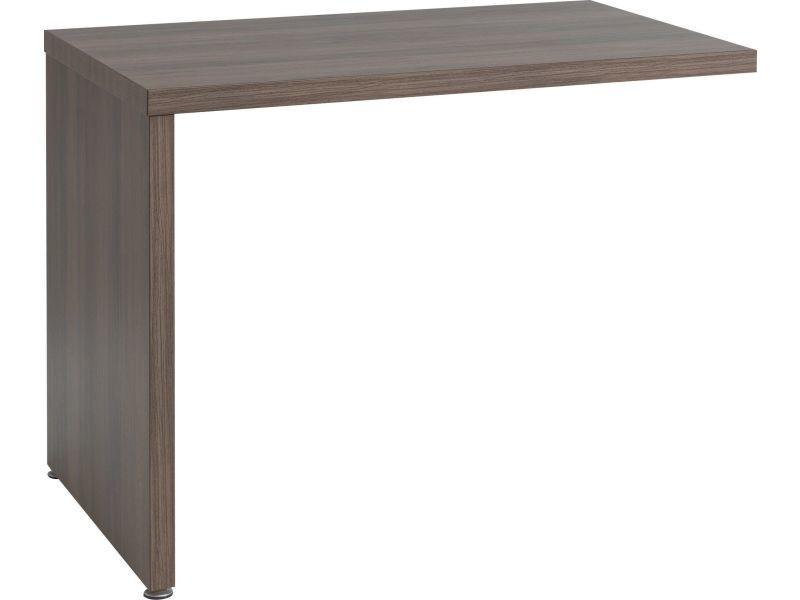 extension de bureau 100 cm coloris noyer p 12544 co efficient conforama. Black Bedroom Furniture Sets. Home Design Ideas