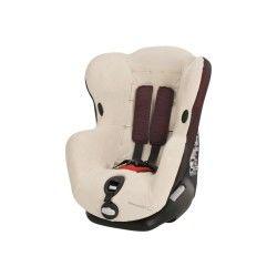 Housse siège auto bébé confort éponge iseos 2015 écru