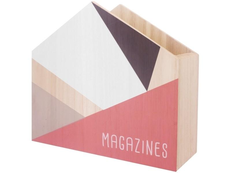 Porte Revues Design Scandinave Range Magazine Collection Scandi Rose