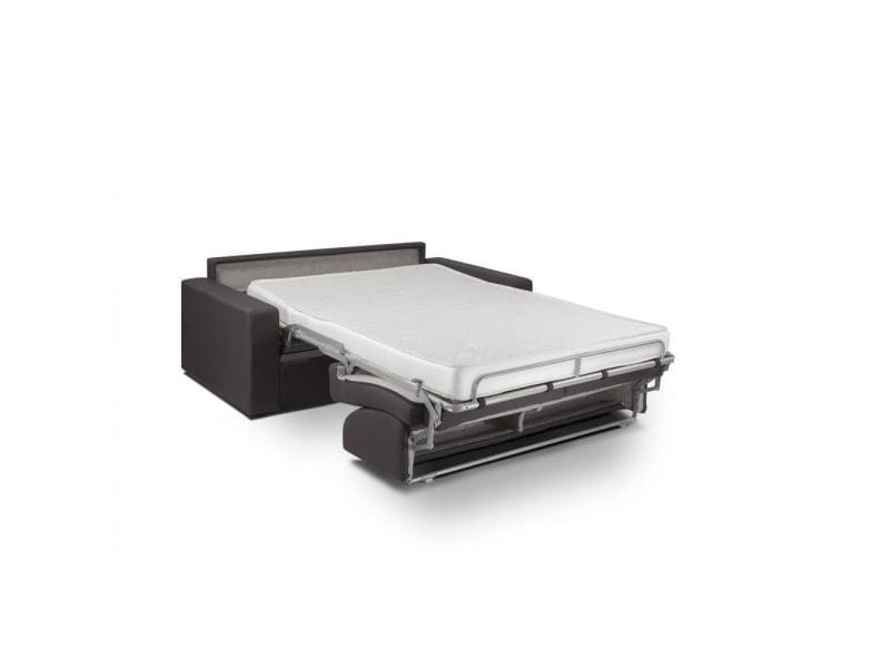 canap lit night convertible ouverture rapido 140 14 195cm tissu anthracite 20100840654 vente. Black Bedroom Furniture Sets. Home Design Ideas