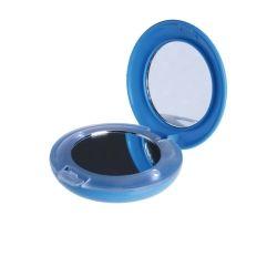 Miroir de Sac Lumineux 6,5 cm - Bleu