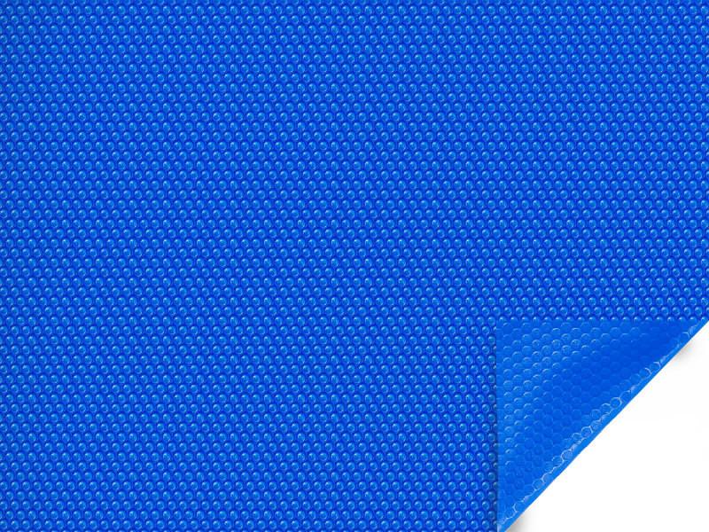 Bâche à bulles pour piscine toledo - 180 µ - bleu