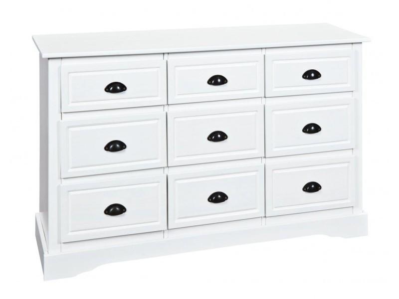 conforama commode blanche good buffet portes tiroirs custom coloris blanc prix promo buffet. Black Bedroom Furniture Sets. Home Design Ideas