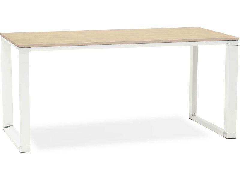 Bureau design bois bois warner ot nawh conforama