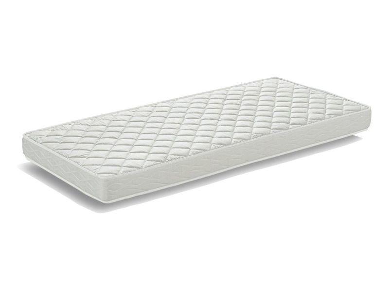 matelas 90x200 cm en mousse coloris blanc conforama. Black Bedroom Furniture Sets. Home Design Ideas