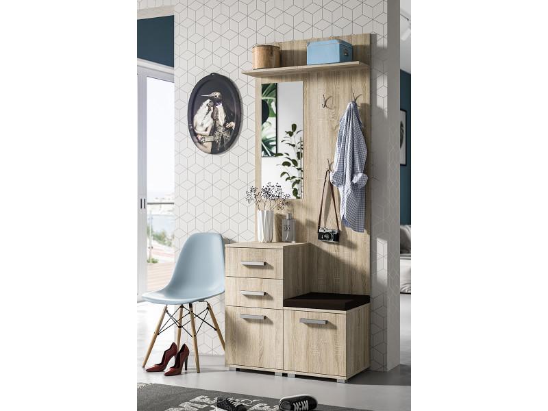meuble vestiaire entr e conforama hollandschewind. Black Bedroom Furniture Sets. Home Design Ideas