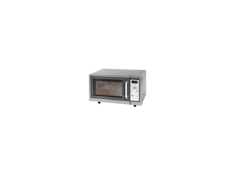 Four micro ondes professionnel - spécial self - 30l 1000 w - l2g - 3000 cl