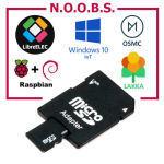 Carte micro sd 8go avec noobs pré-installé pour raspberry pi toutes versions