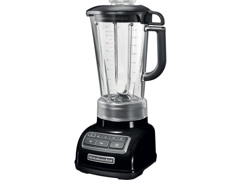 Blender mixeur électrique de 1,75l 550w noir onyx gris