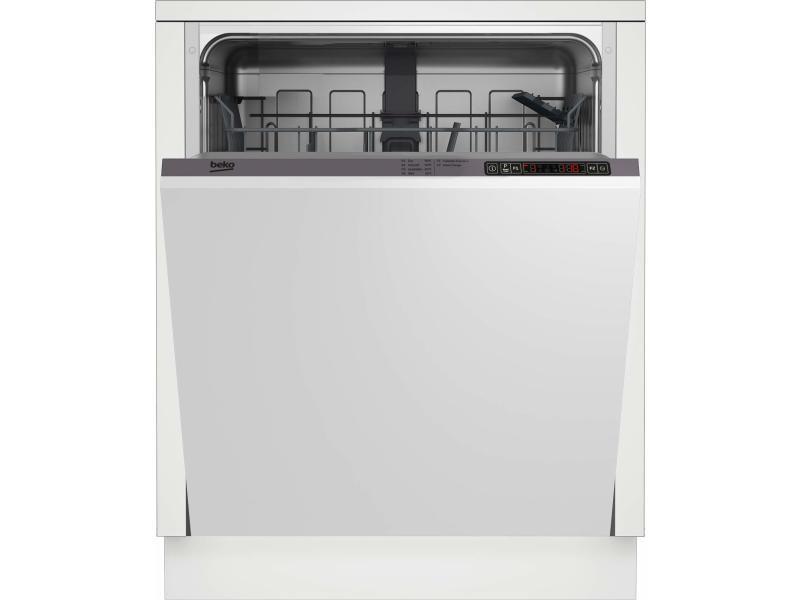 Lave-vaisselle encastrable beko 13 couverts 60cm a+, pdin 25310