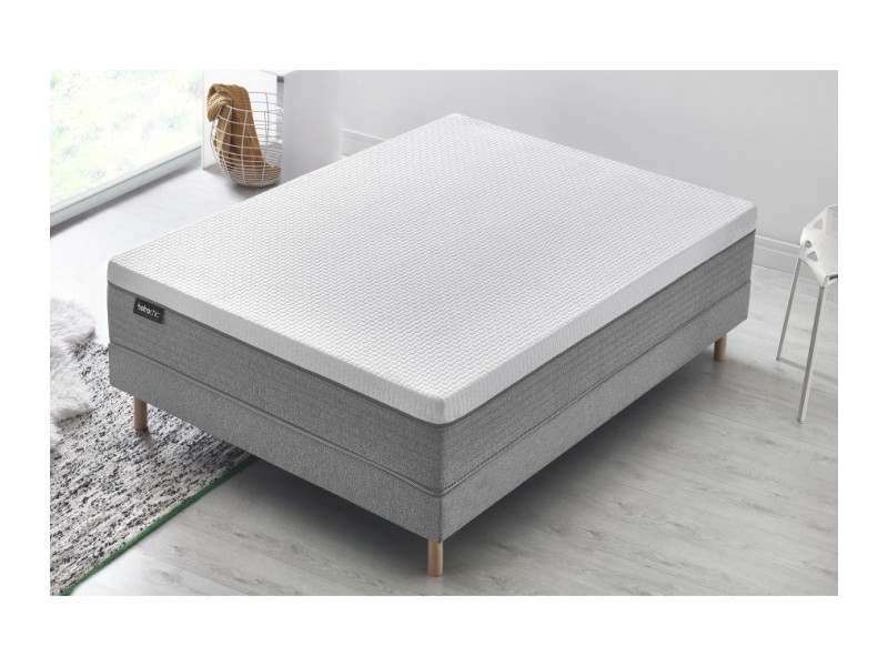 matelas bourgeois chic latex naturel m moire de forme 28 cm 160x200 5412618099591 vente de. Black Bedroom Furniture Sets. Home Design Ideas