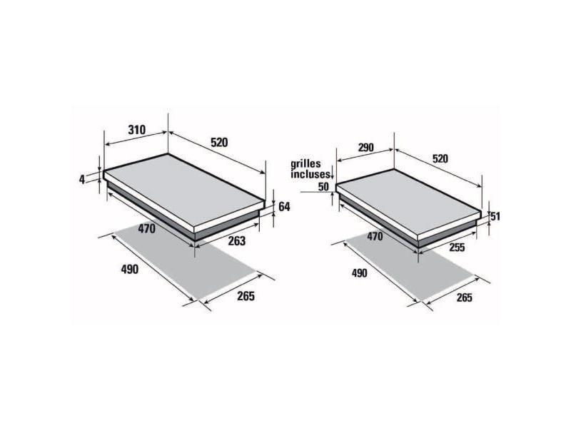 table de cuisson mixte sauter spi4465mb vente de plaque de cuisson conforama. Black Bedroom Furniture Sets. Home Design Ideas
