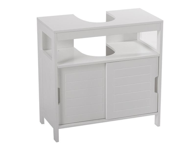 meuble sous lavabo aqua blanc vente de instant d 39 o conforama. Black Bedroom Furniture Sets. Home Design Ideas