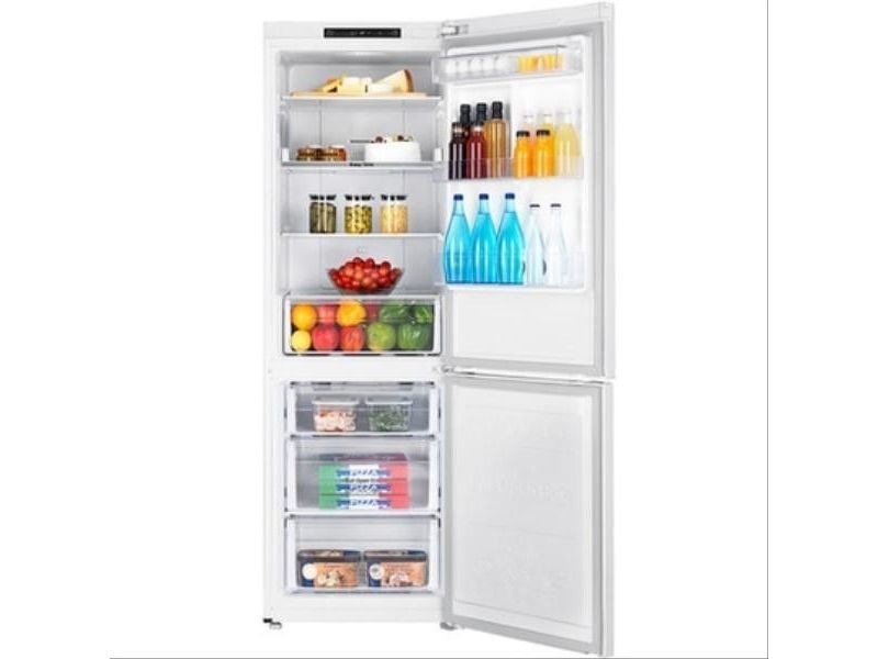Réfrigérateur combiné 311l froid ventilé samsung 59.5cm a+, rb30j3000ww/ef 28483