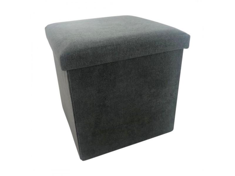 Felix tabouret coffret gris anthracite 436571