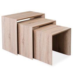 table basse marron conforama. Black Bedroom Furniture Sets. Home Design Ideas