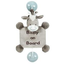 Bébé à bord Nattou Noa le cheval