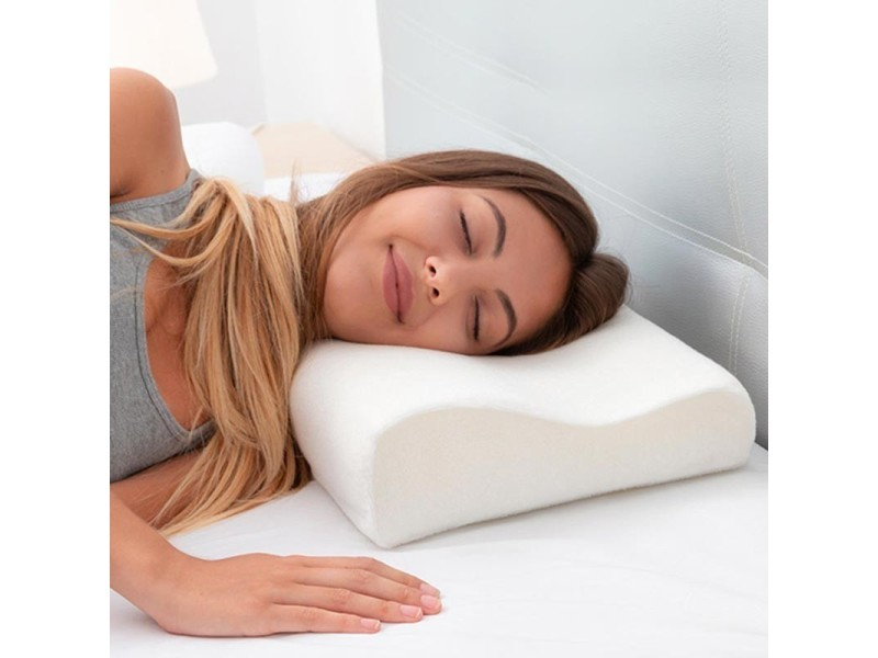 Oreiller ergonomique à mémoire de forme Memory Foam Pillow