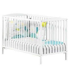 Lit bébé blanc | Conforama