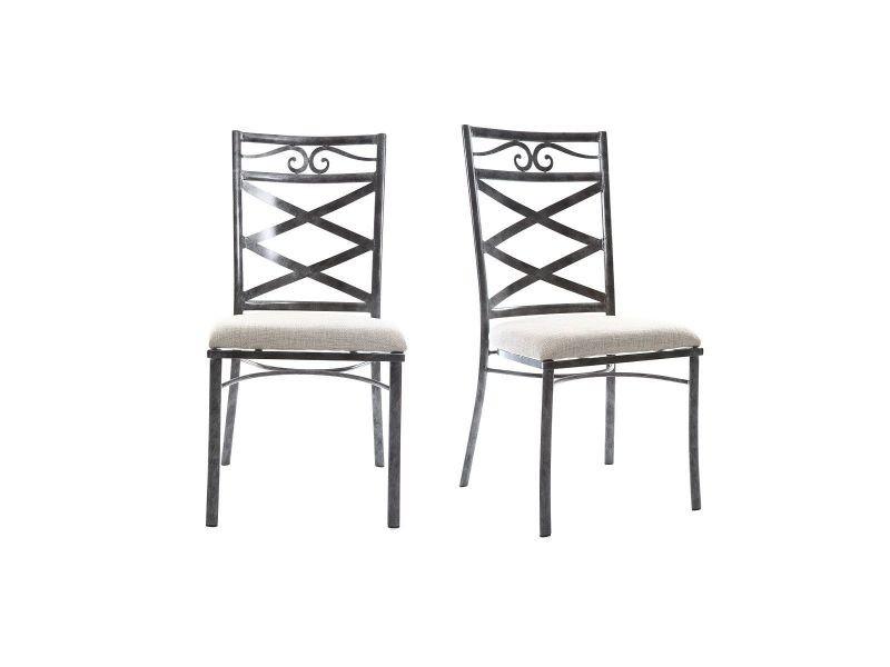 chaises baroques conforama