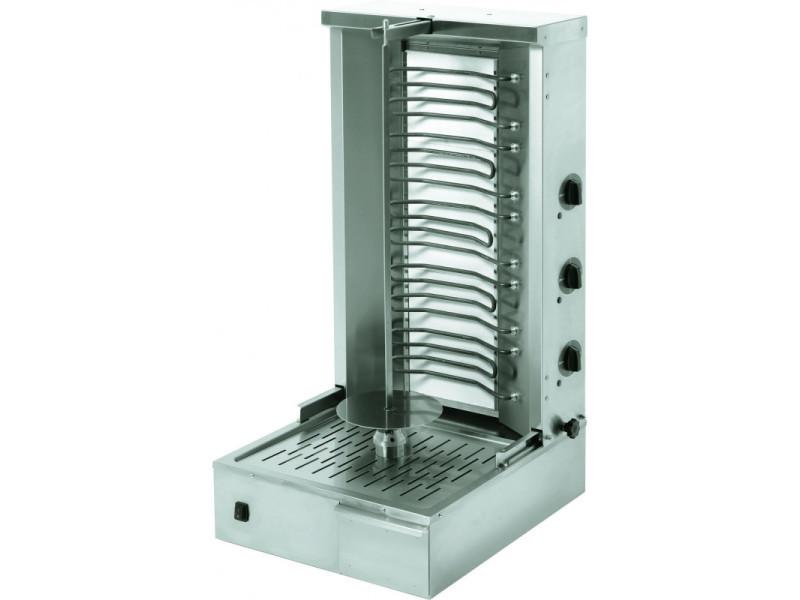 Broche kebab électrique 25 kg - stalgast -