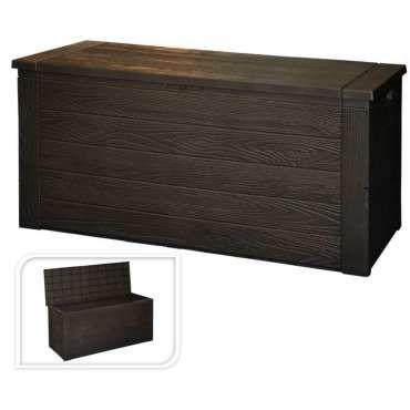 Coffre De Rangement 300l 120x45x57cm Vente De Salon De Jardin Conforama