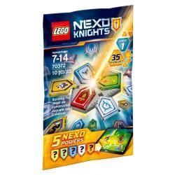 70372 combo nexo pouvoirs série 1, lego(r) nexo knights? 0117