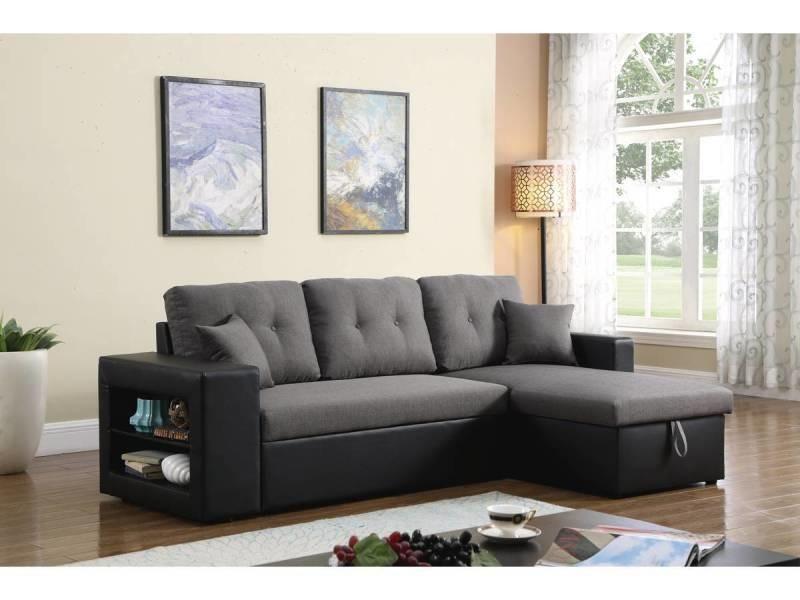 Canapé d'angle convertible/réversible \