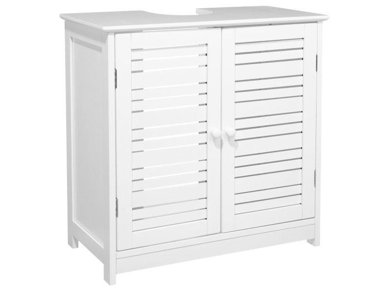 meuble de lavabo bois blanc vente de instant d 39 o. Black Bedroom Furniture Sets. Home Design Ideas