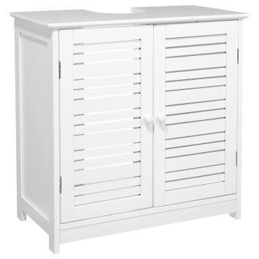 meuble de lavabo bois blanc vente de instant d 39 o conforama. Black Bedroom Furniture Sets. Home Design Ideas