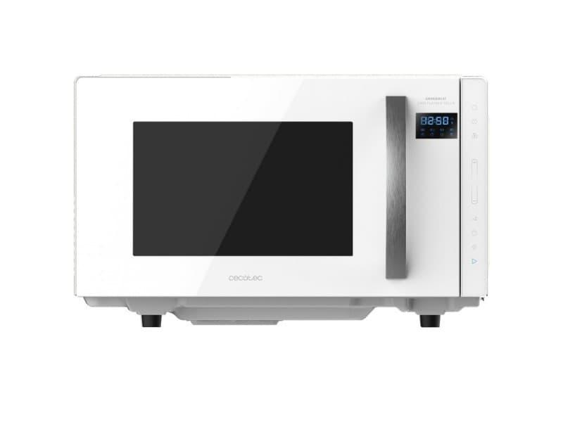 Micro-ondes sans soucoupe, cecotec, grandheat 2300 flatbed touch white