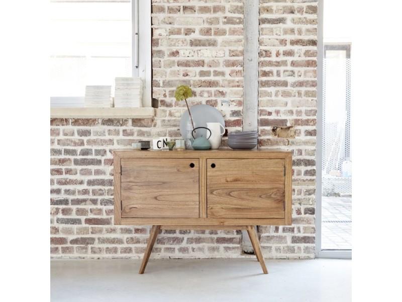 trendy buffet en bois de mindy oslo vente de buffet de cuisine conforama with buffet de cuisine. Black Bedroom Furniture Sets. Home Design Ideas