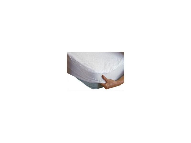 al se imperm able pour lit 160 x 200 cm blanc 160 x 200 cm vente de sur matelas conforama. Black Bedroom Furniture Sets. Home Design Ideas