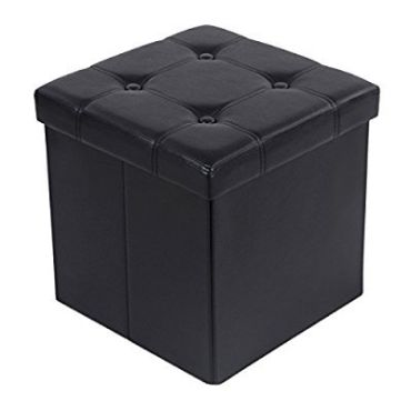 cube pouf coffre de rangement pliable conforama. Black Bedroom Furniture Sets. Home Design Ideas