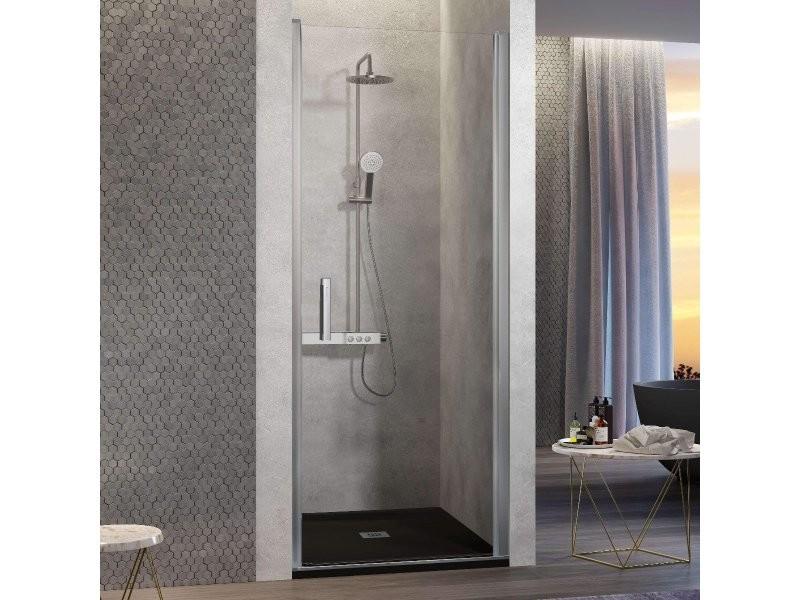 Porte de douche pivotante nardi 60-64 cm ancre de porte à droite