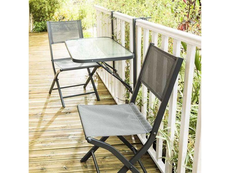 Table de jardin de balcon pliante W_600098 - Vente de ...