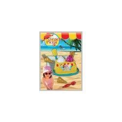 Beach picnic-stand de glaces